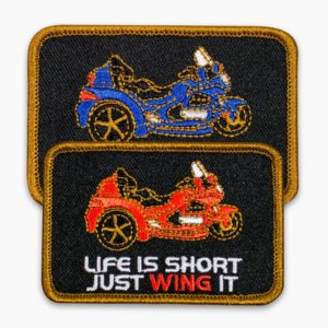 Just Wing It Trike Patch