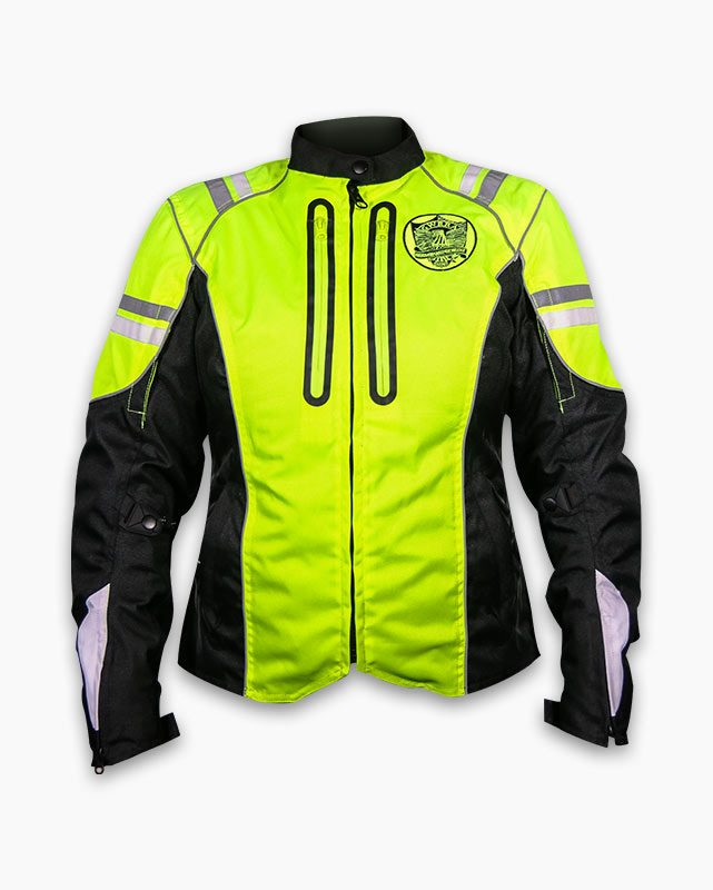 Women's Ultimate Reflector jacket front view