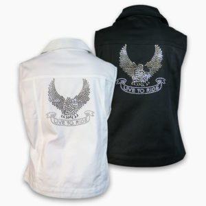 Eagle live to ride vest