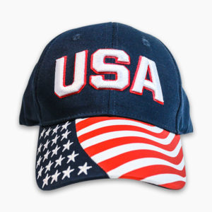 USAFlagTwillCap_Front